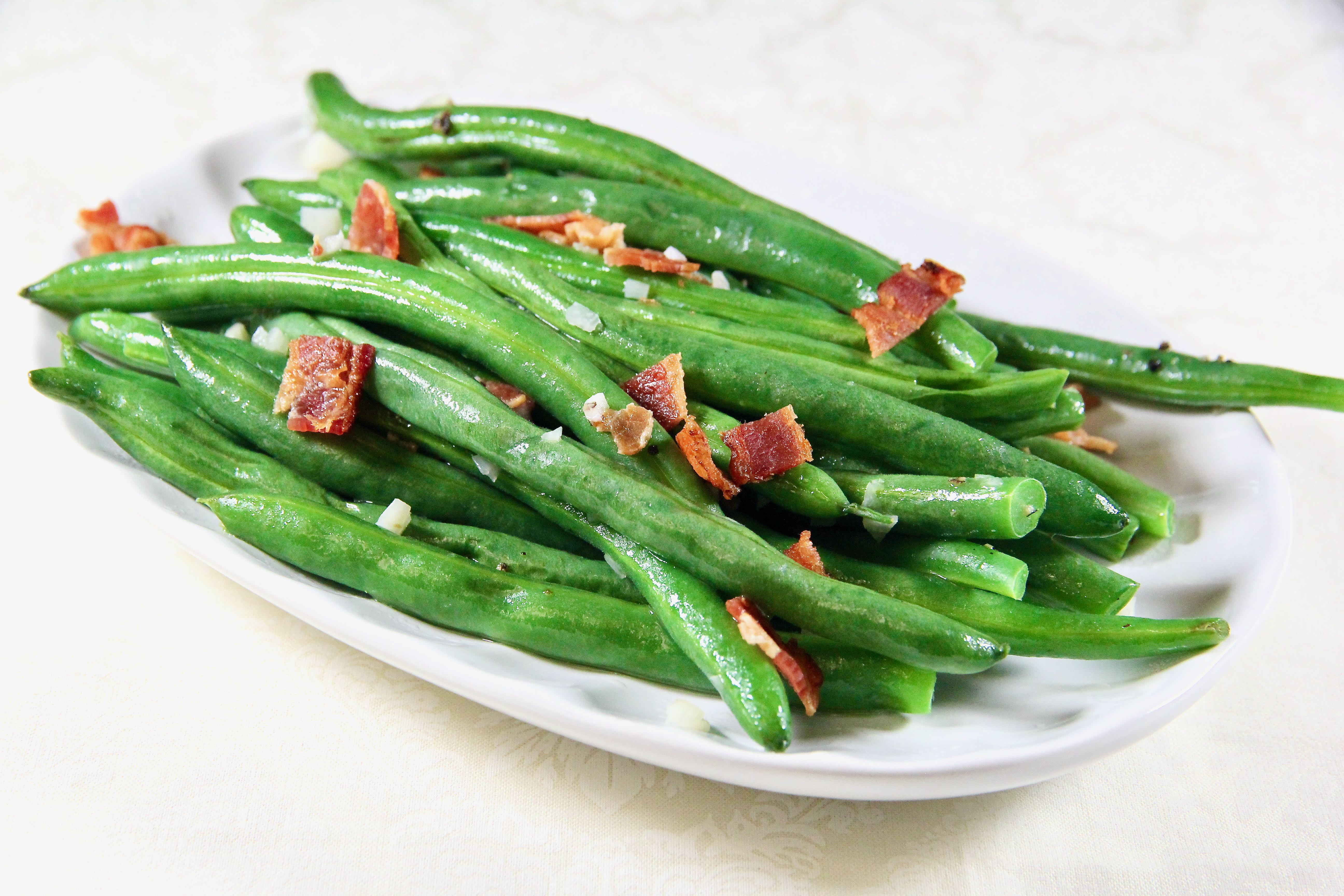 Favorite Green Beans in the Microwave