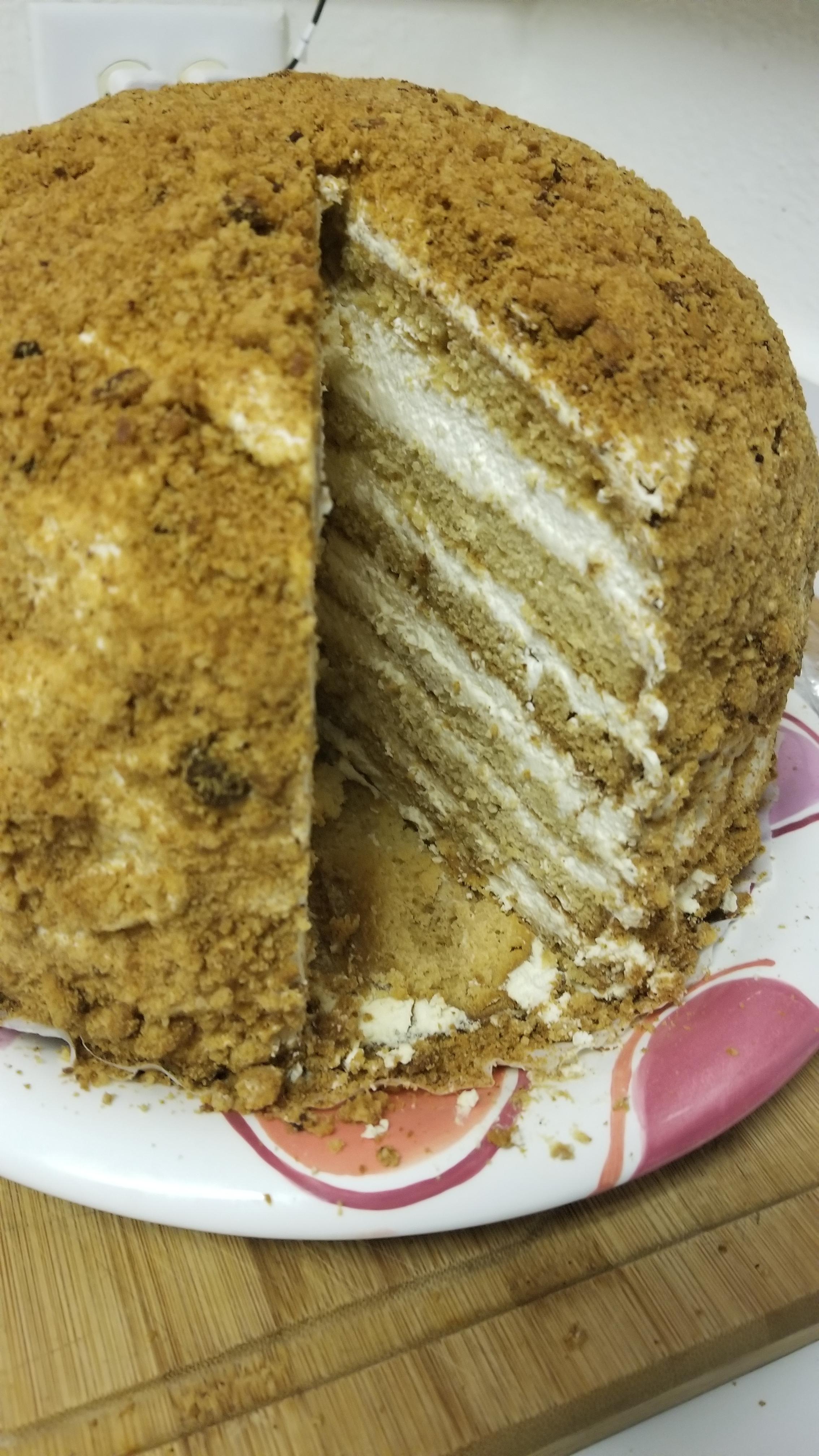 Russian Honey Cake Brian Crabtree