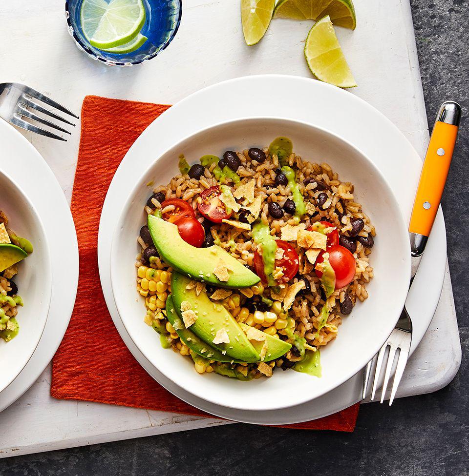 Rice and Bean Bowl Dinner