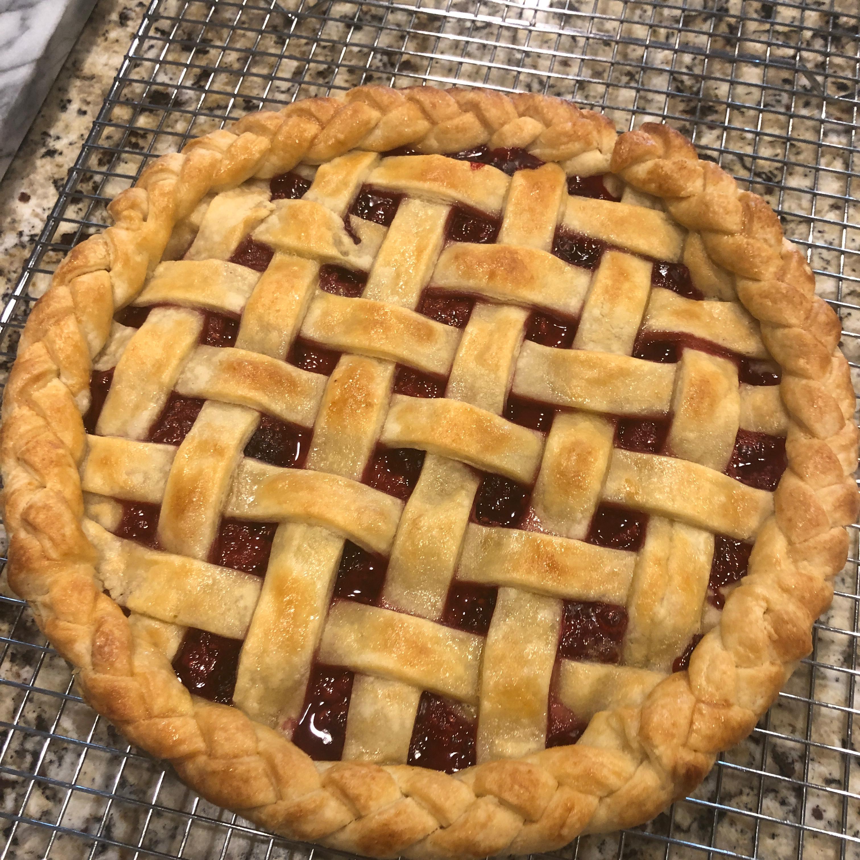 Blueberry Raspberry Pie Jason Miller