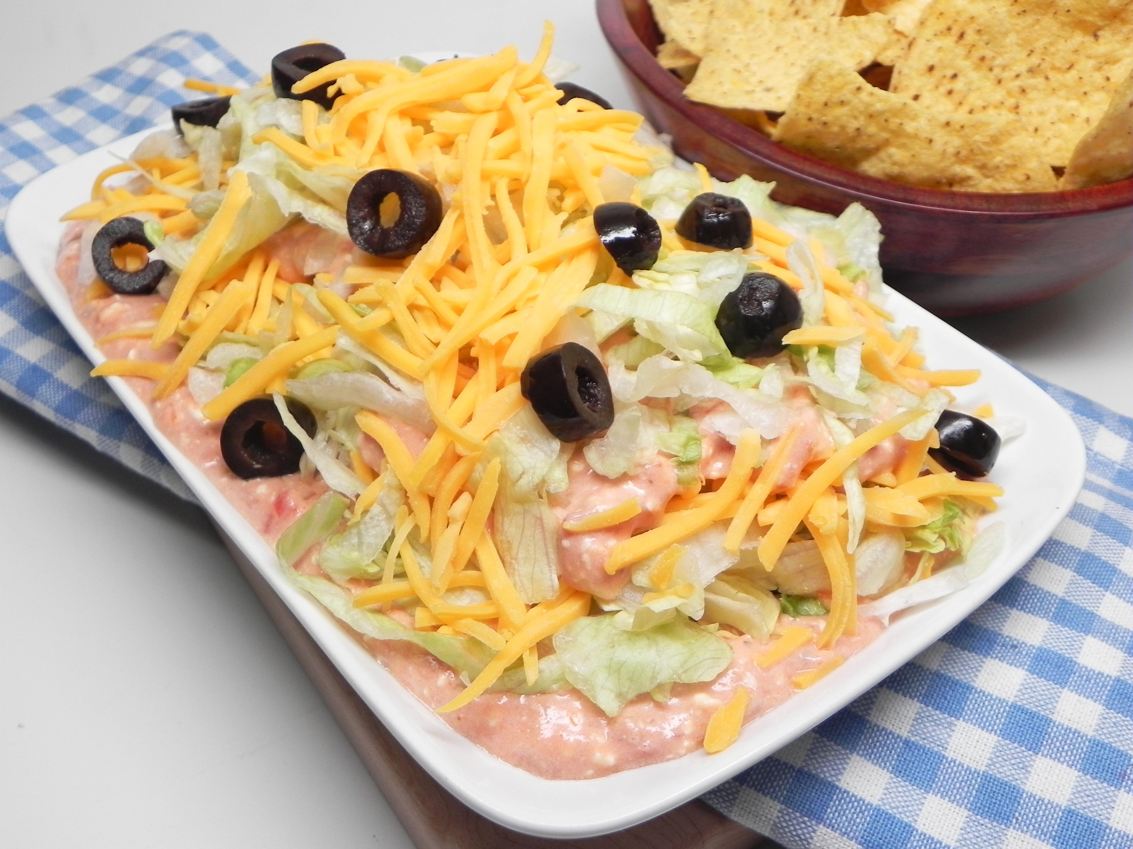 Cream Cheese-Salsa Dip