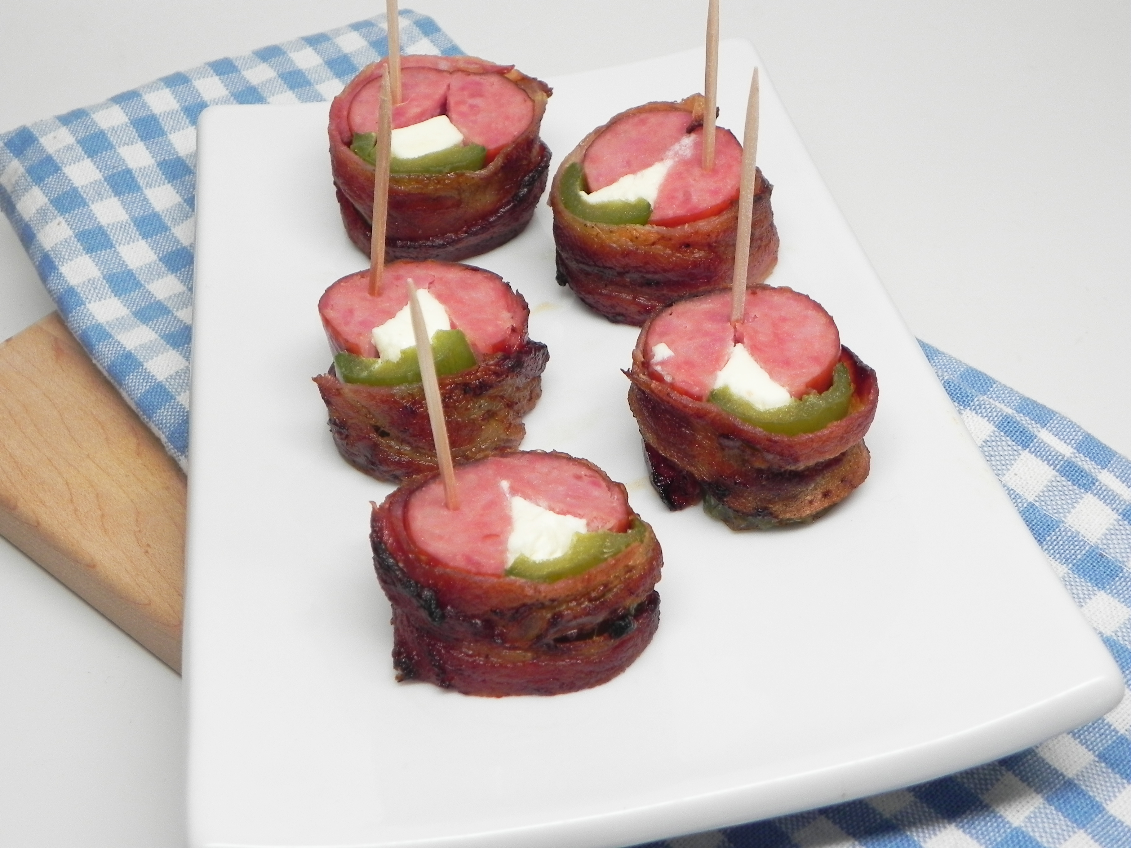 Jalapeno Poppers with Hillshire Farm® Smoked Sausage