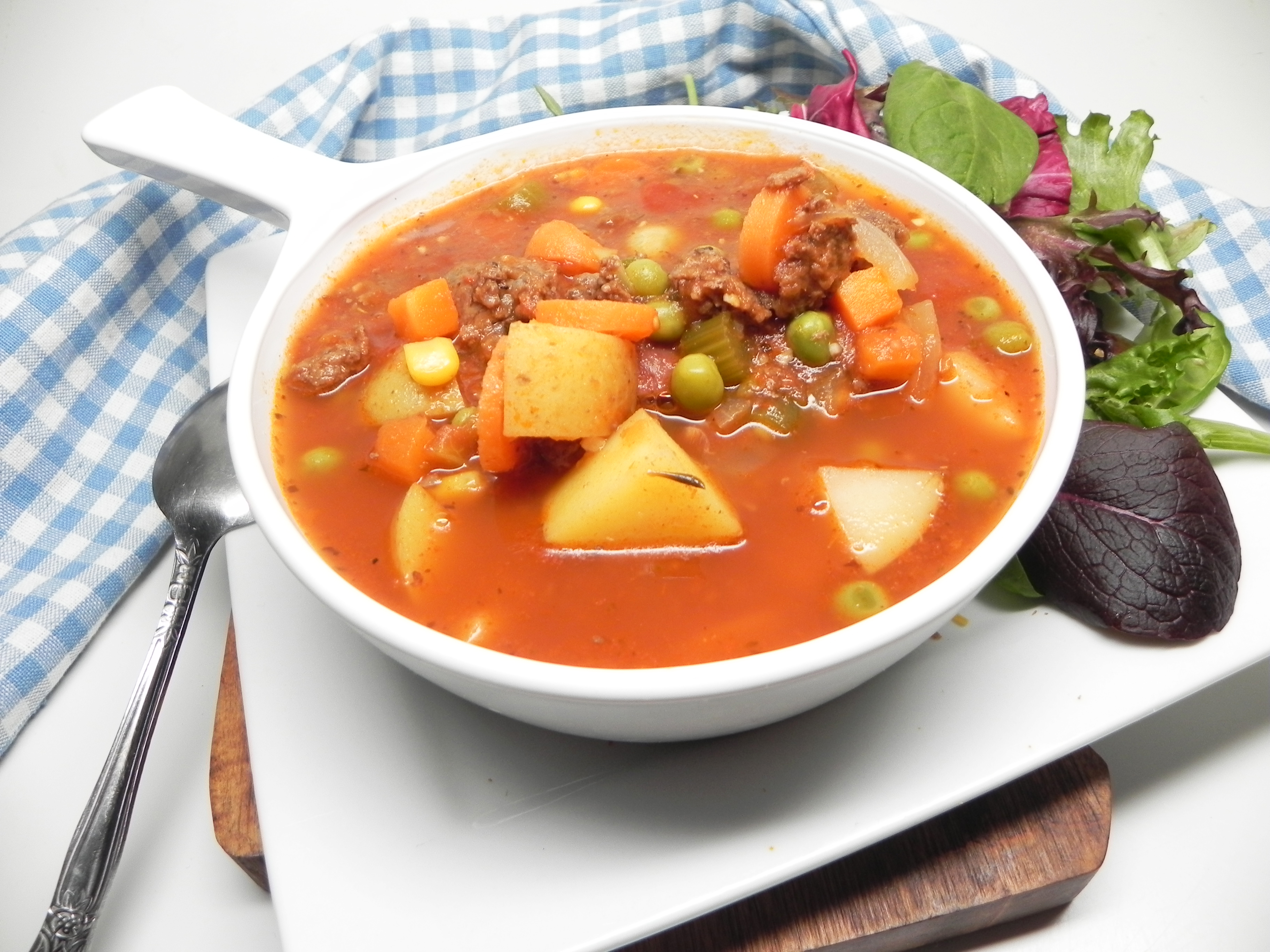 Instant Pot® Venison and Vegetable Soup