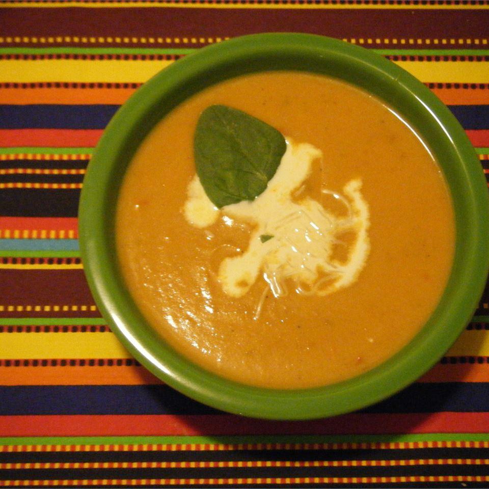 Pumpkin Chipotle Soup SpiderQueen