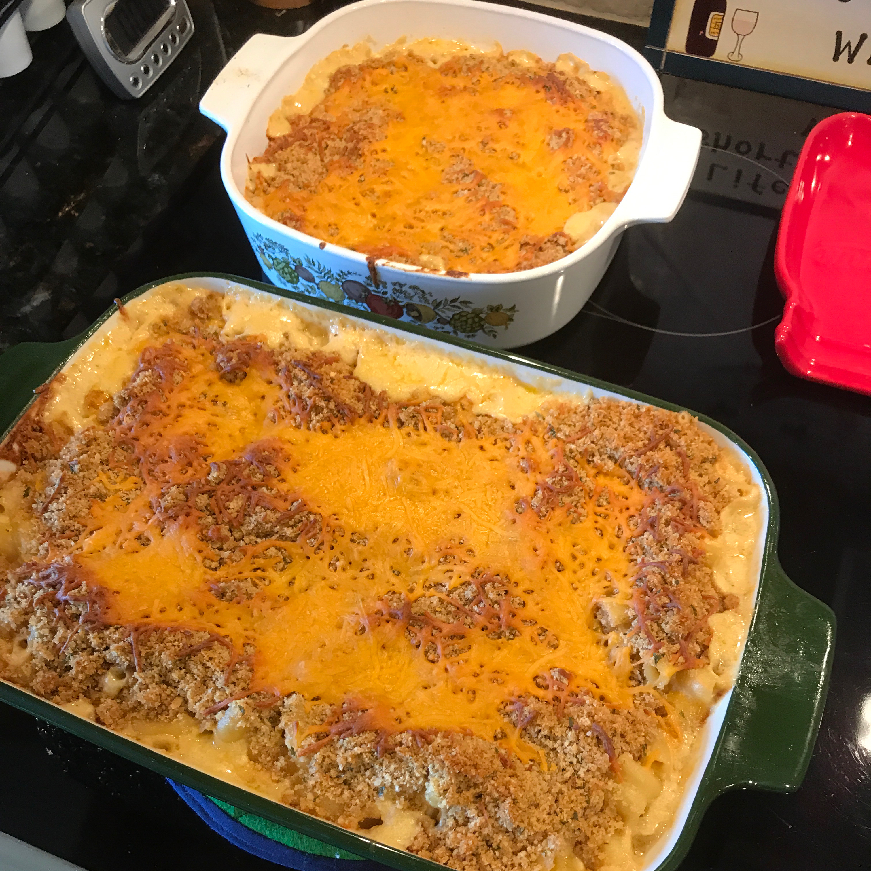 Baked Macaroni and Cheese!