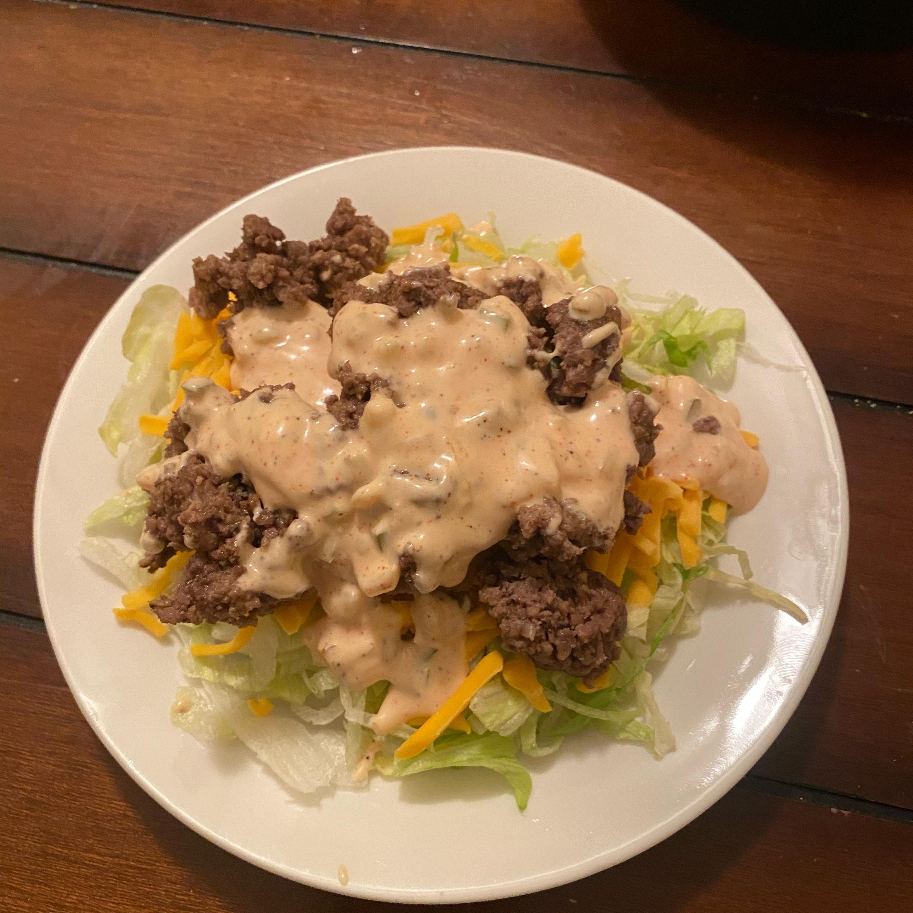 Just Like A Mac Attack Salad Mike Saiz