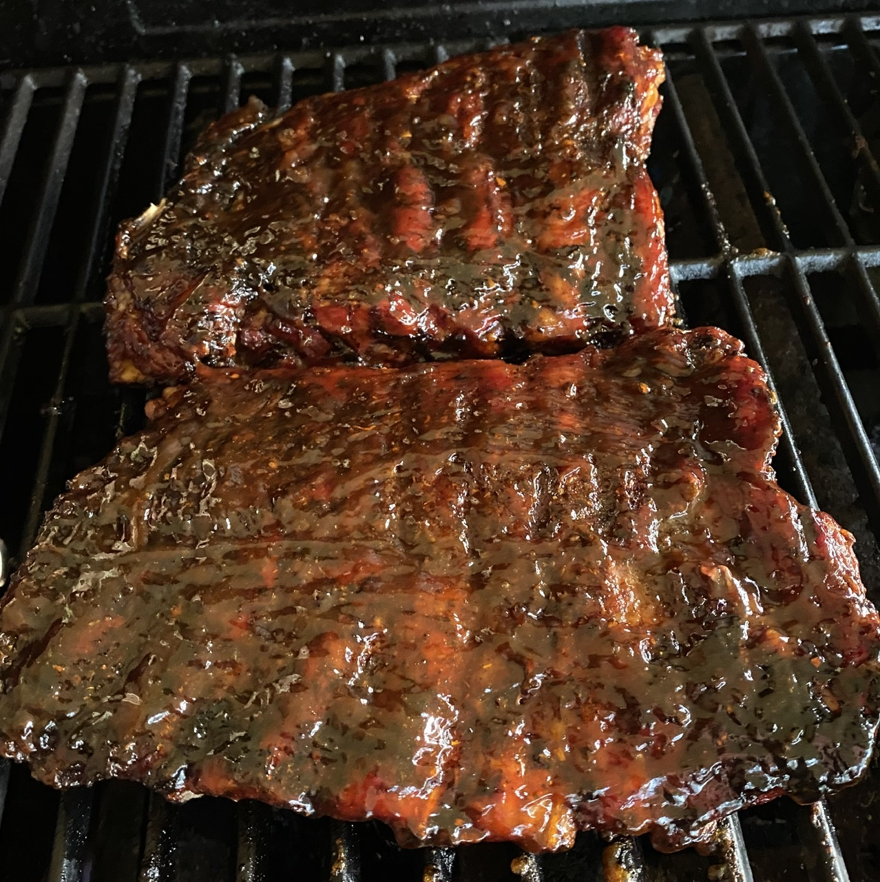 Easy St. Louis-Style Pork Ribs on Gas Grill Pappy228