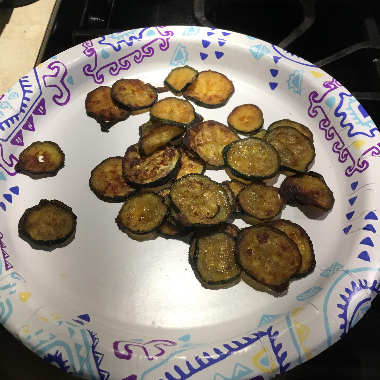 Easy Baked Zucchini Chips Callie Skene