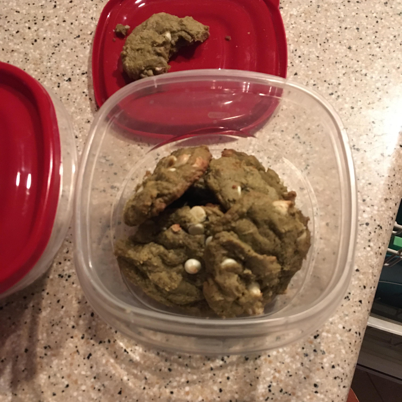 Matcha Green Tea Chocolate Chip Cookies BakerImposter