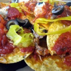 Italian Nachos Restaurant-Style