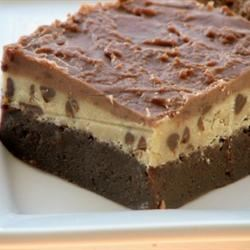 Karen's Cookie Dough Brownies mominml