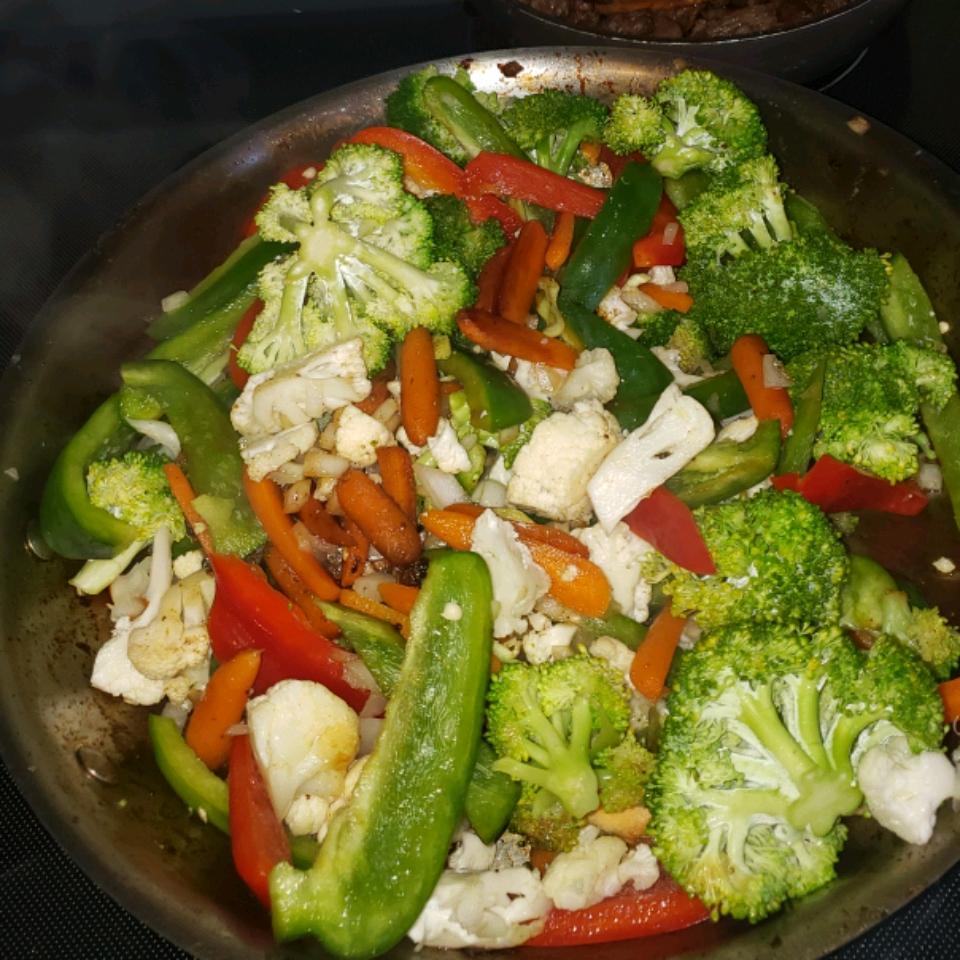 Sesame Vegetable Stir-Fry