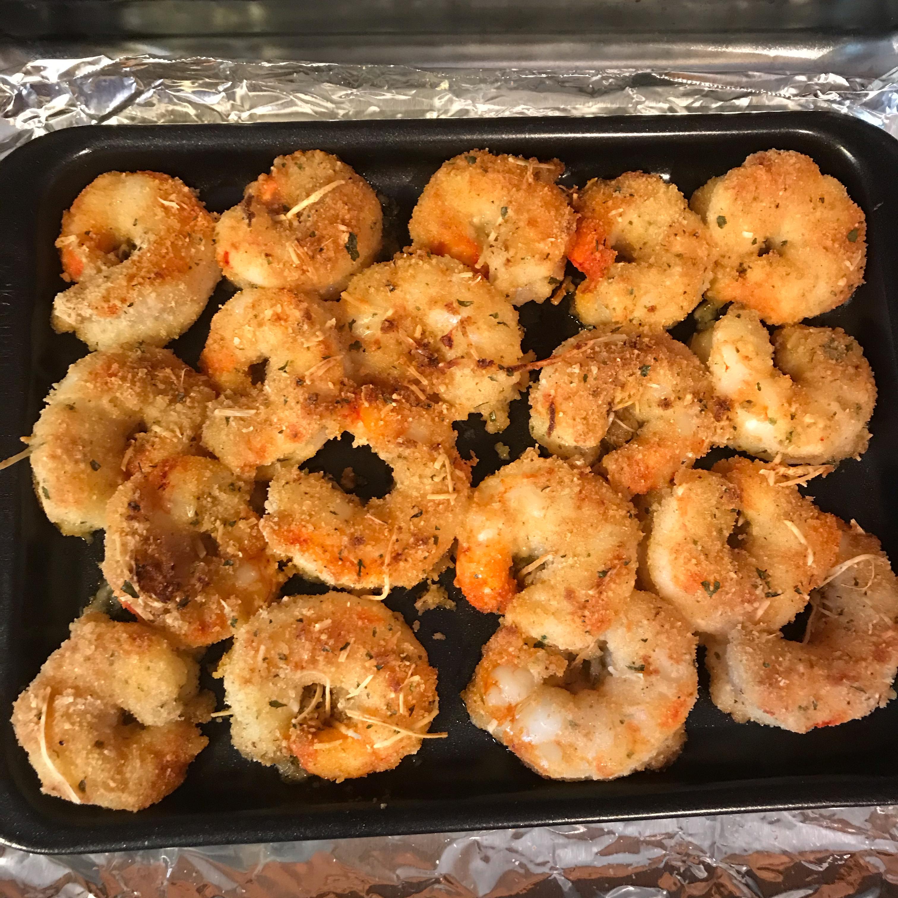 Garlic-Parmesan Shrimp cheryl