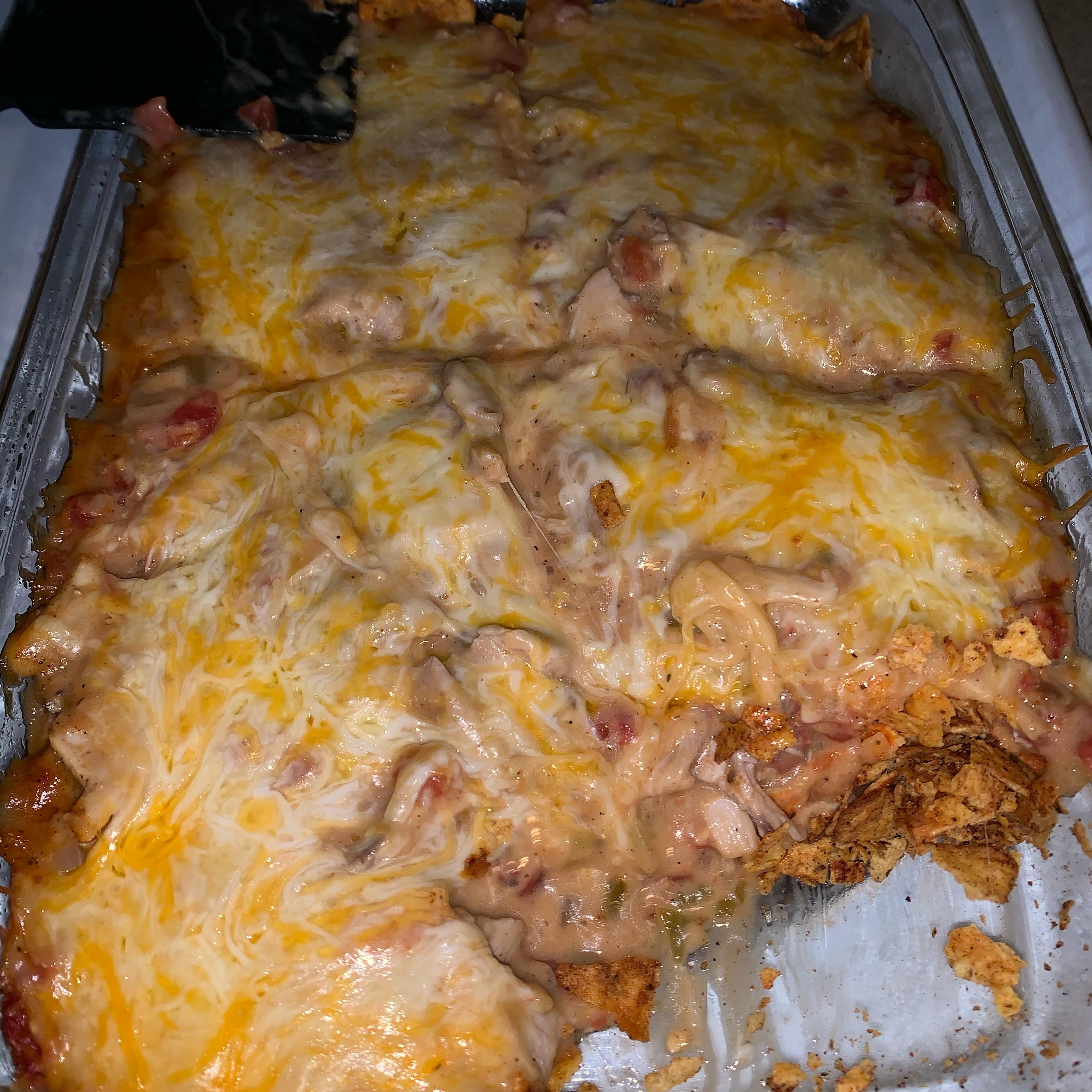 Tex-Mex Chicken Casserole Shelia Mixon Franklin