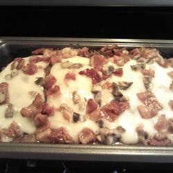 Bacon Mushroom Swiss Meatloaf Anonymous
