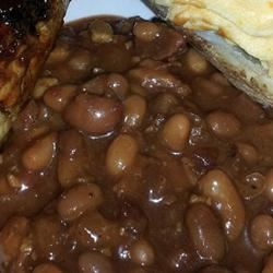 Kansas Baked Beans tryingcake