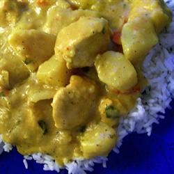 Sherry Chicken Curry SunnyByrd