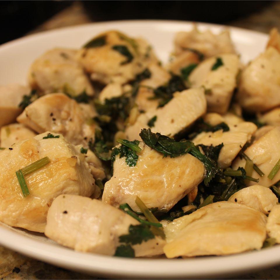 Chicken and Garlic Hermosa