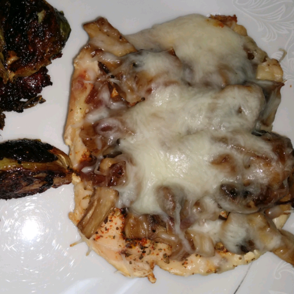 Smothered Chicken with Mushrooms Ramboette
