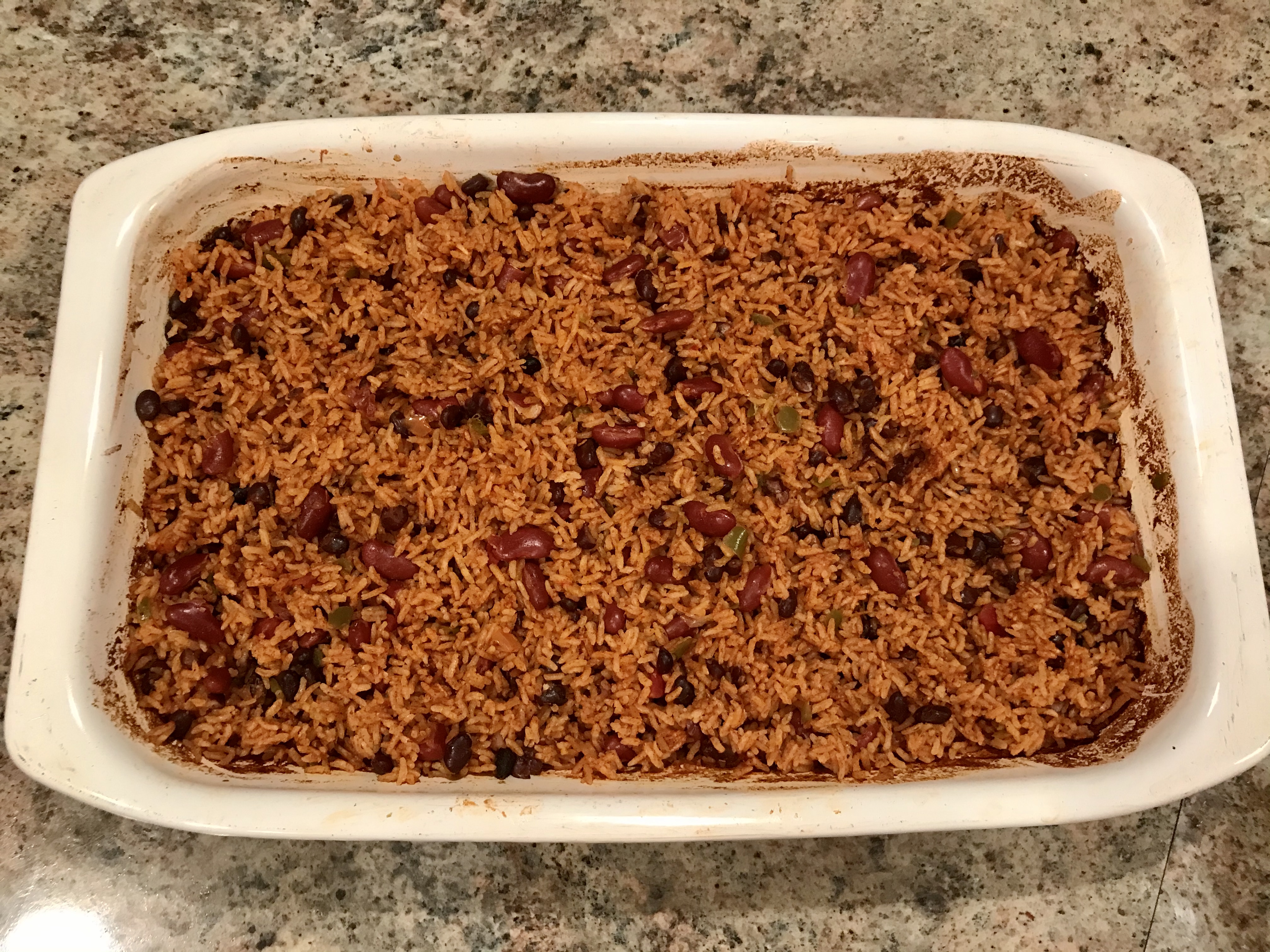 The Best Baked Rice and Beans LPATT27