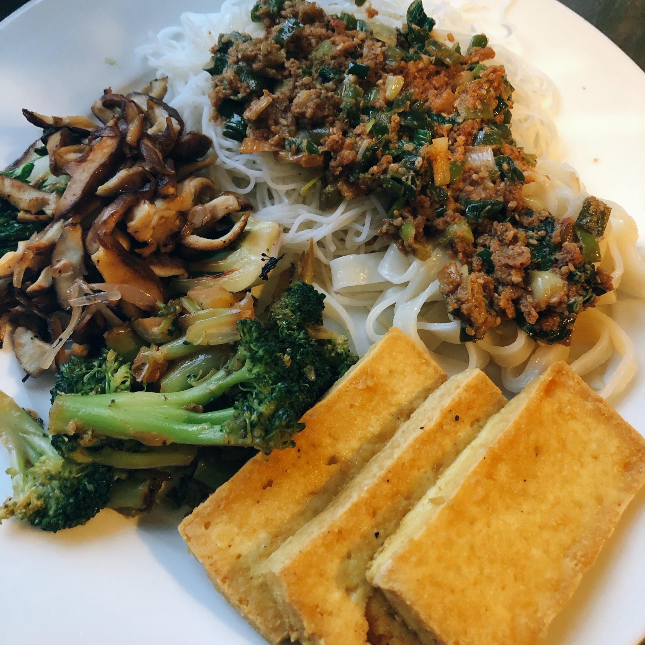 Pan-Fried Tofu Michelle Edelbaum, Digital Dir