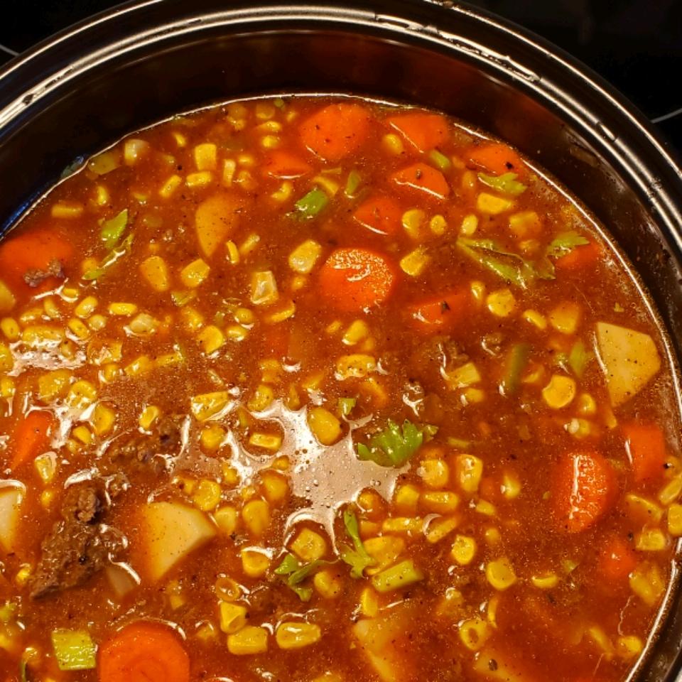 Hamburger Stew Sylvie Fredette Tibben