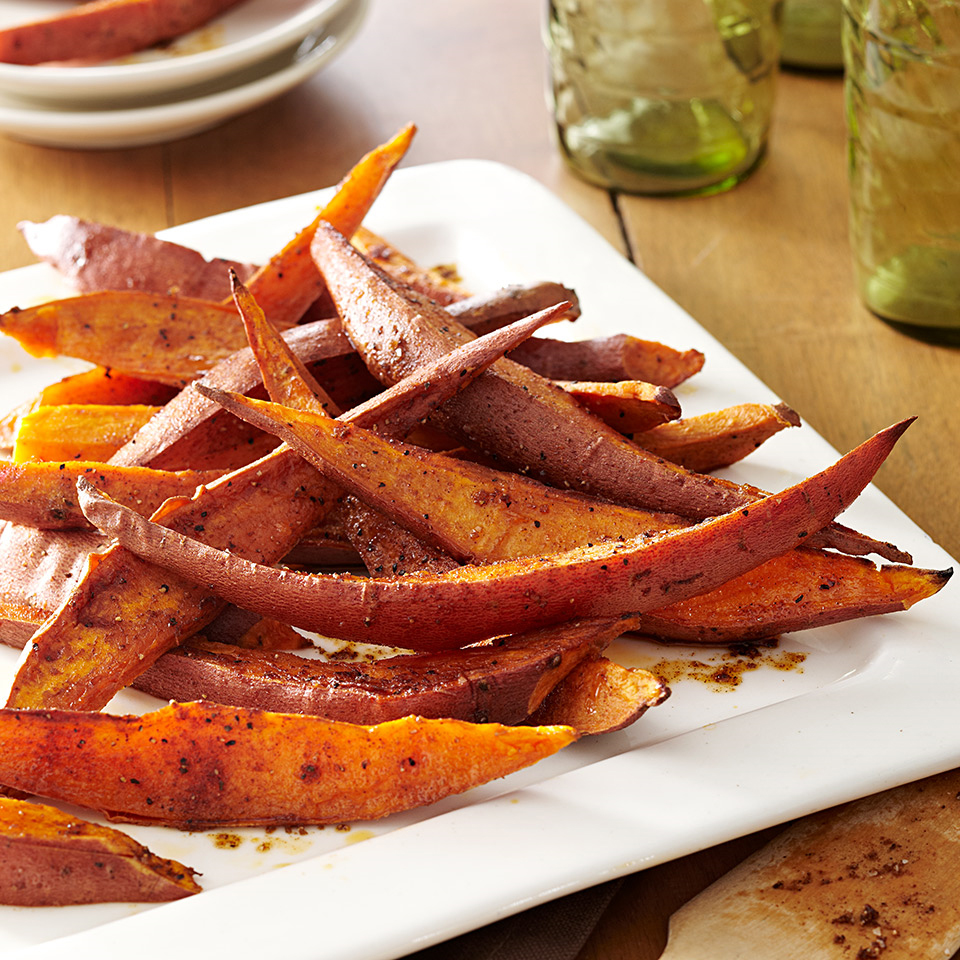 Spiced Sweet Potato Wedges Allrecipes Trusted Brands