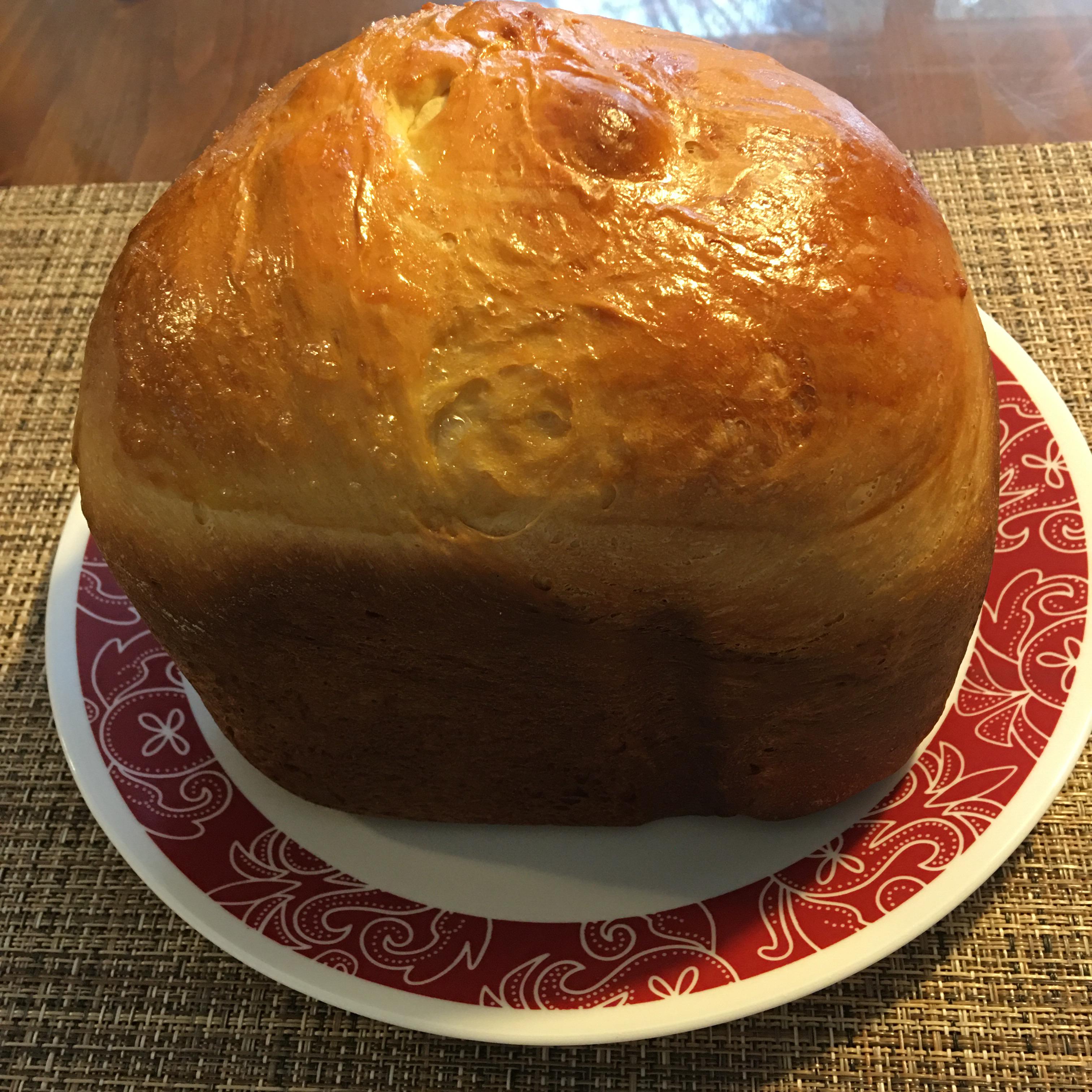 Braided Easter Egg Bread Roseanne Giunta Gonzalez