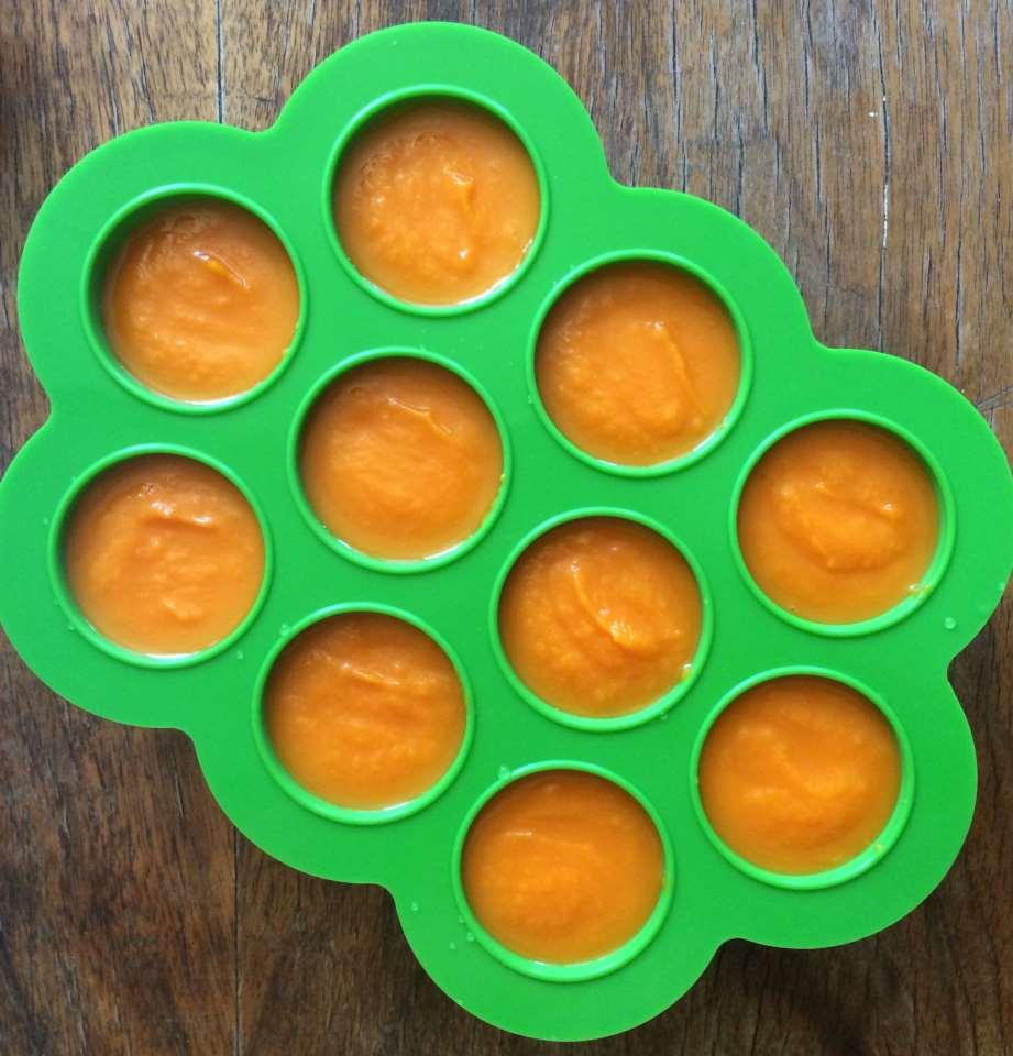 Carrot-Apple Baby Food