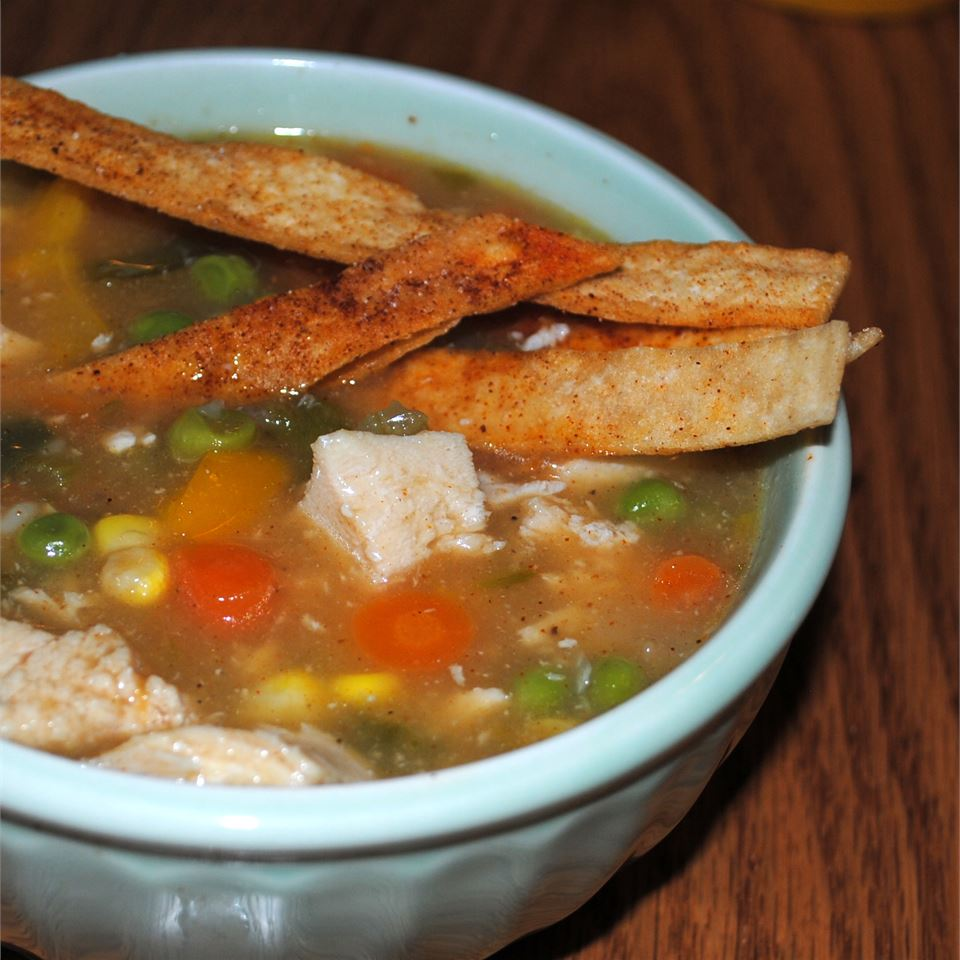 South of The Border Chicken Soup