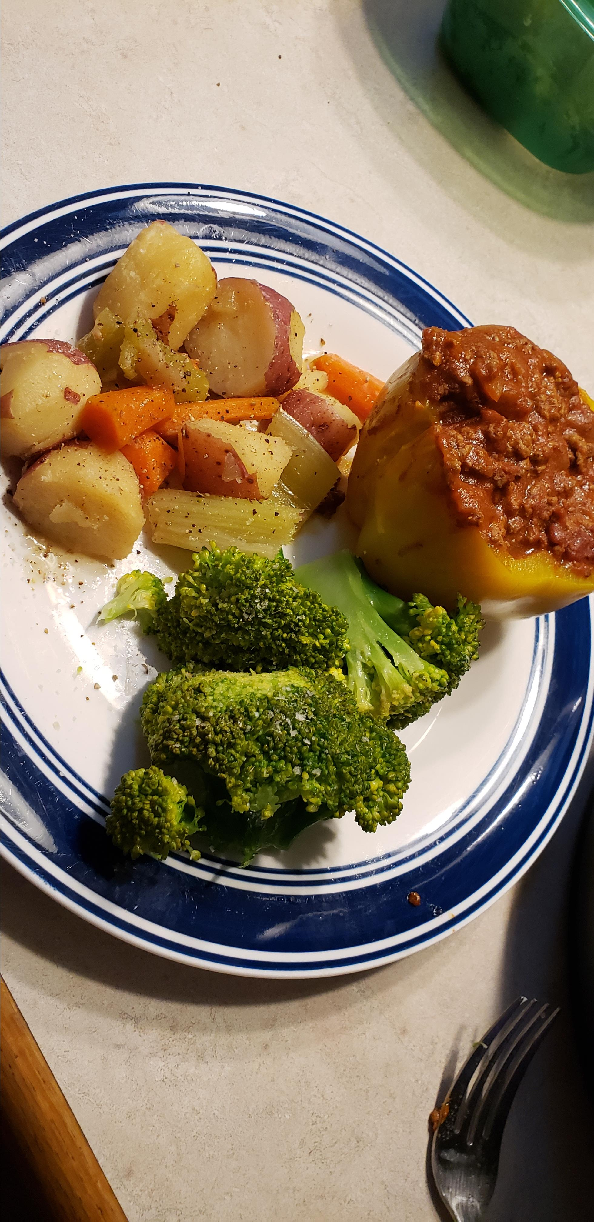 Instant Pot® Beef-Stuffed Peppers Susan Laurenz Jakubowski
