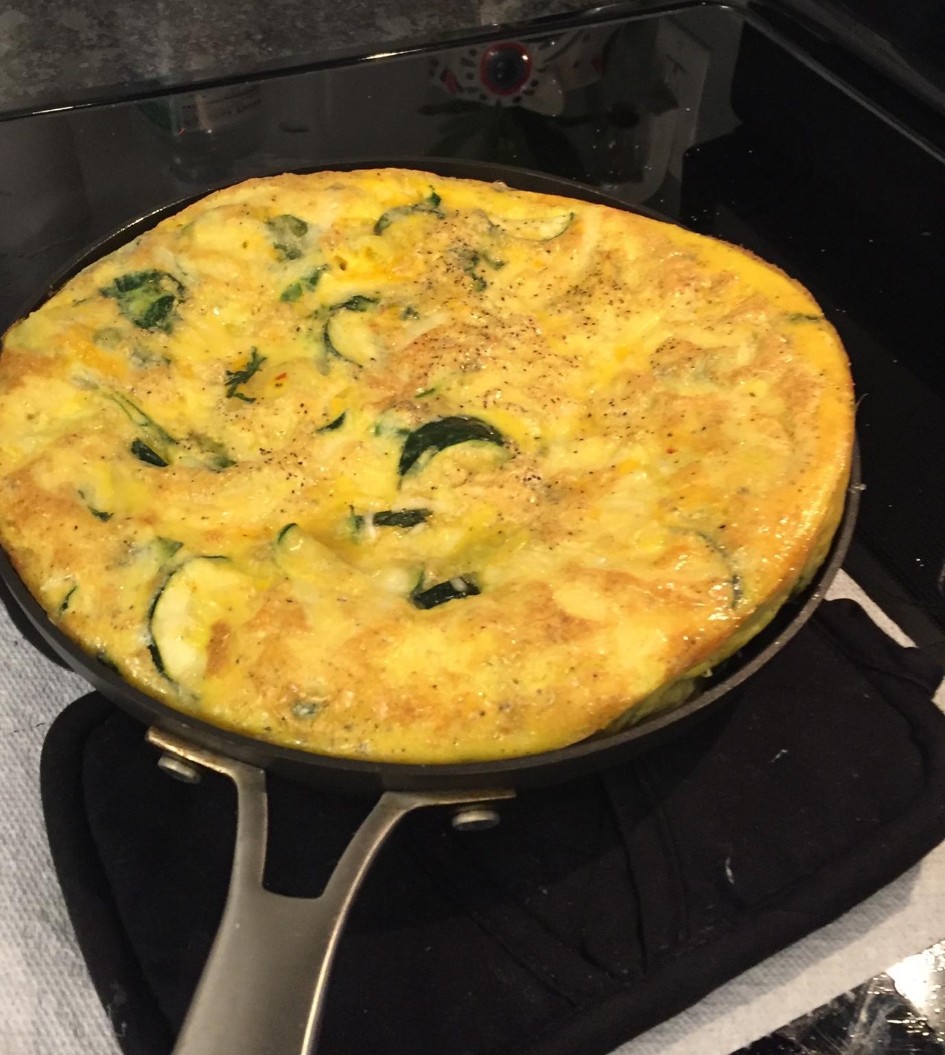 Spring Vegetable Frittata for Mother mcooks