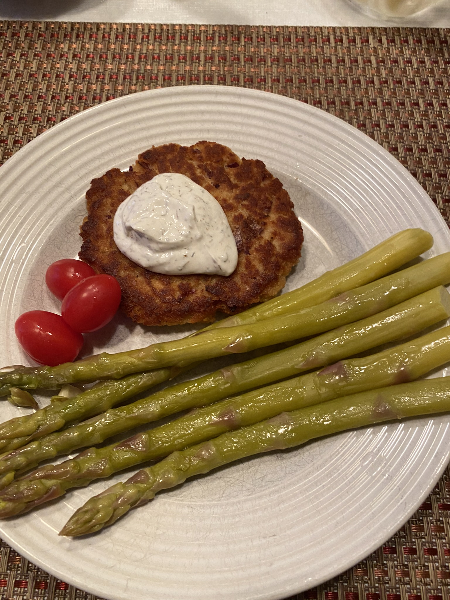 Salmon Patties With Dill Sauce Janet Sacco