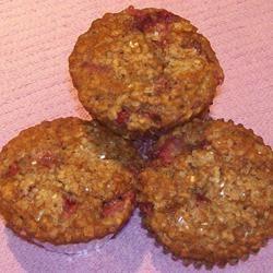 Strawberry Cinnamon Oatmeal Muffins Pam Ziegler Lutz