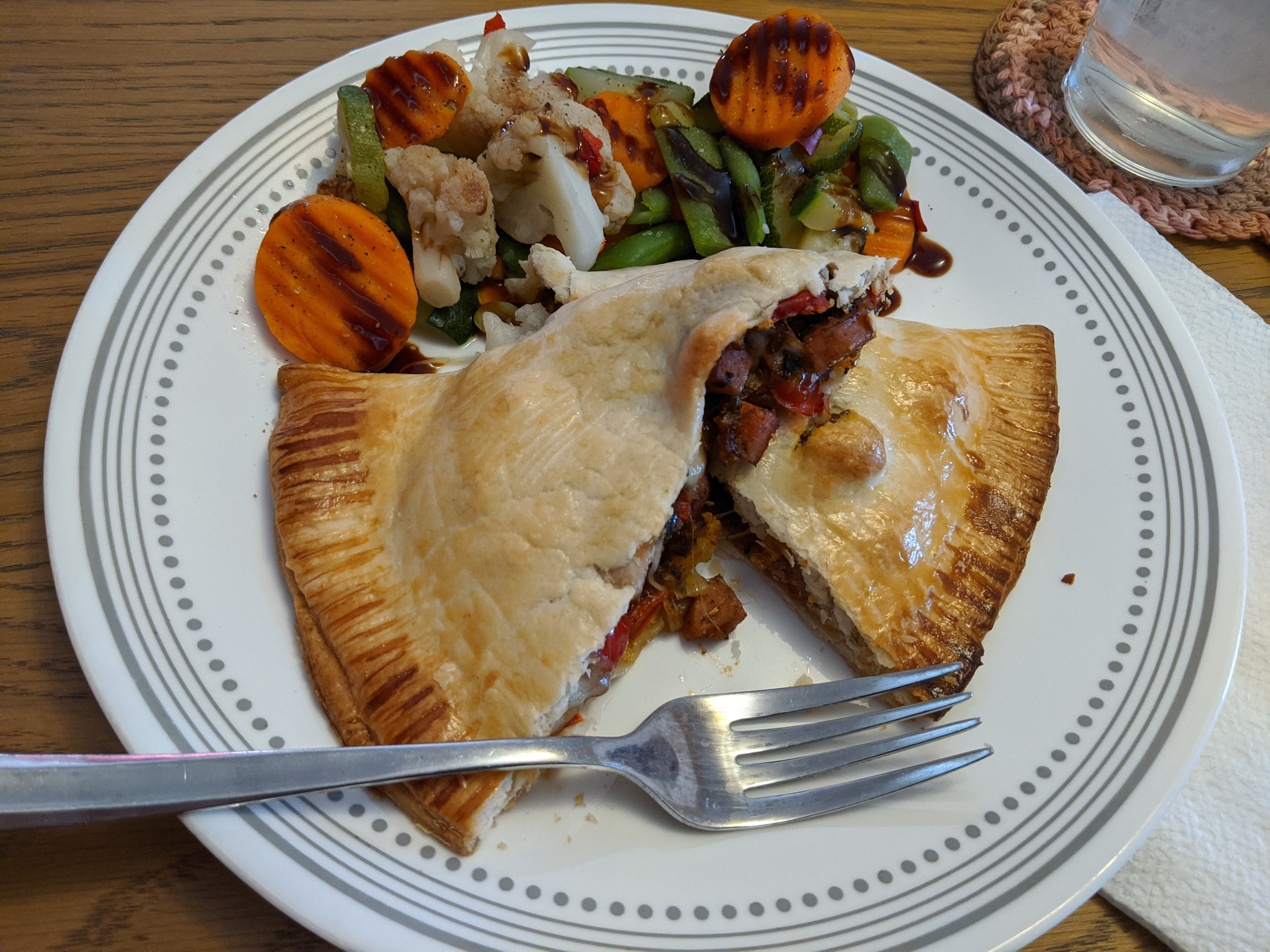 Mini Smoked Sausage and Pepper Hand Pies coops