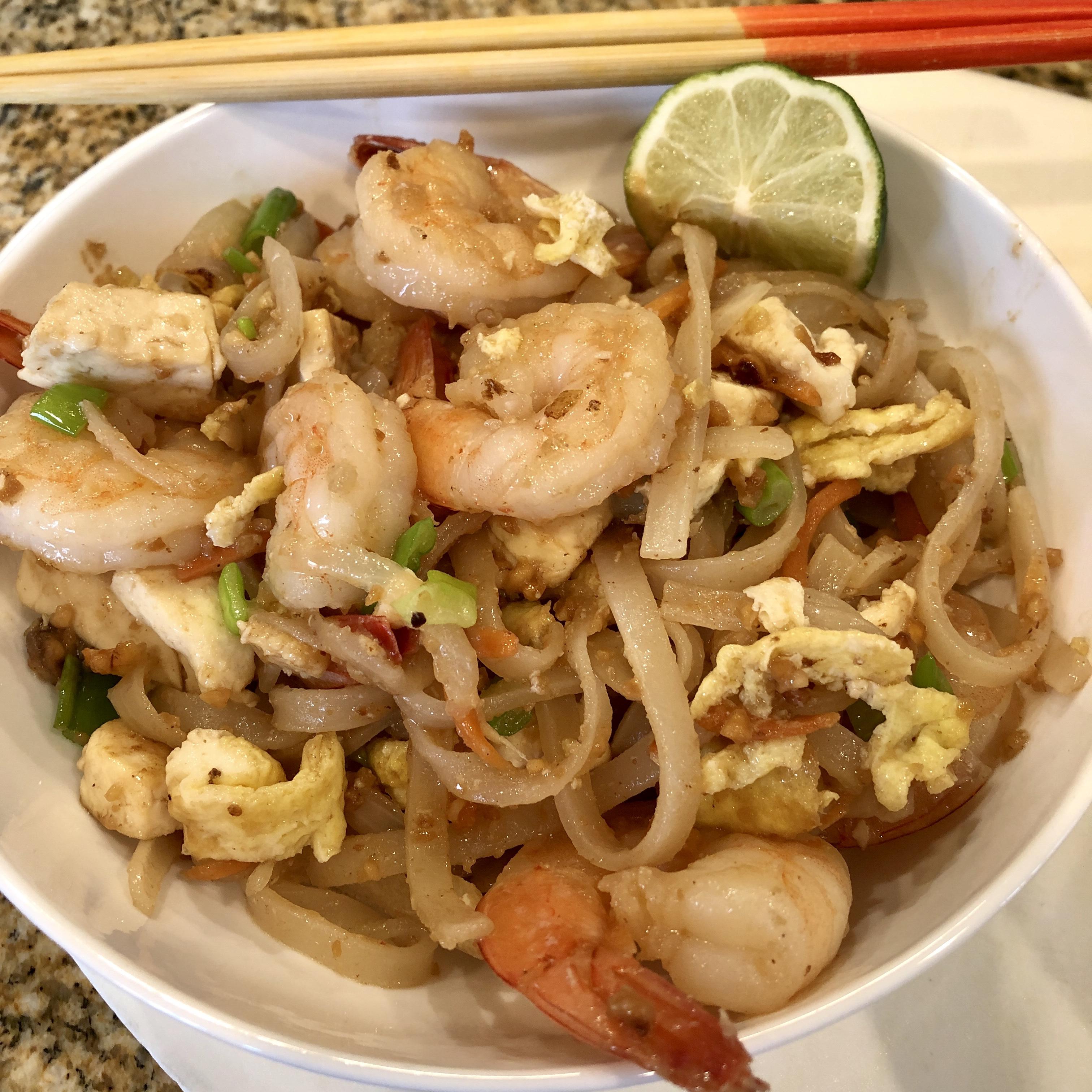Okinawan-Style Pad Thai marianne likesta cook