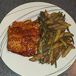 maple glazed salmon recipe