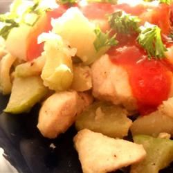 Chicken and Chayote Crystal Foubert