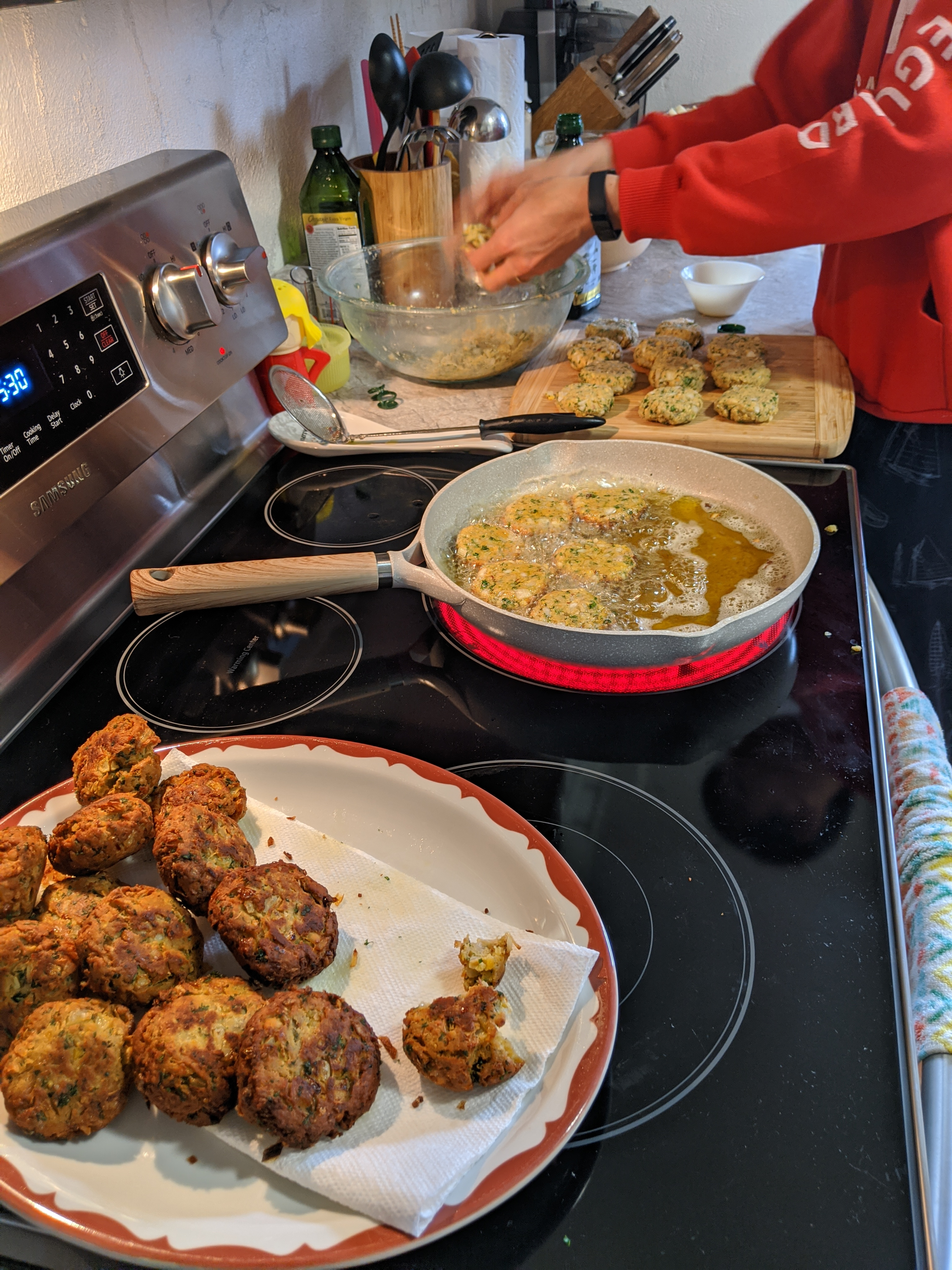 Falafel with Canned Chickpeas Soumya Gupta