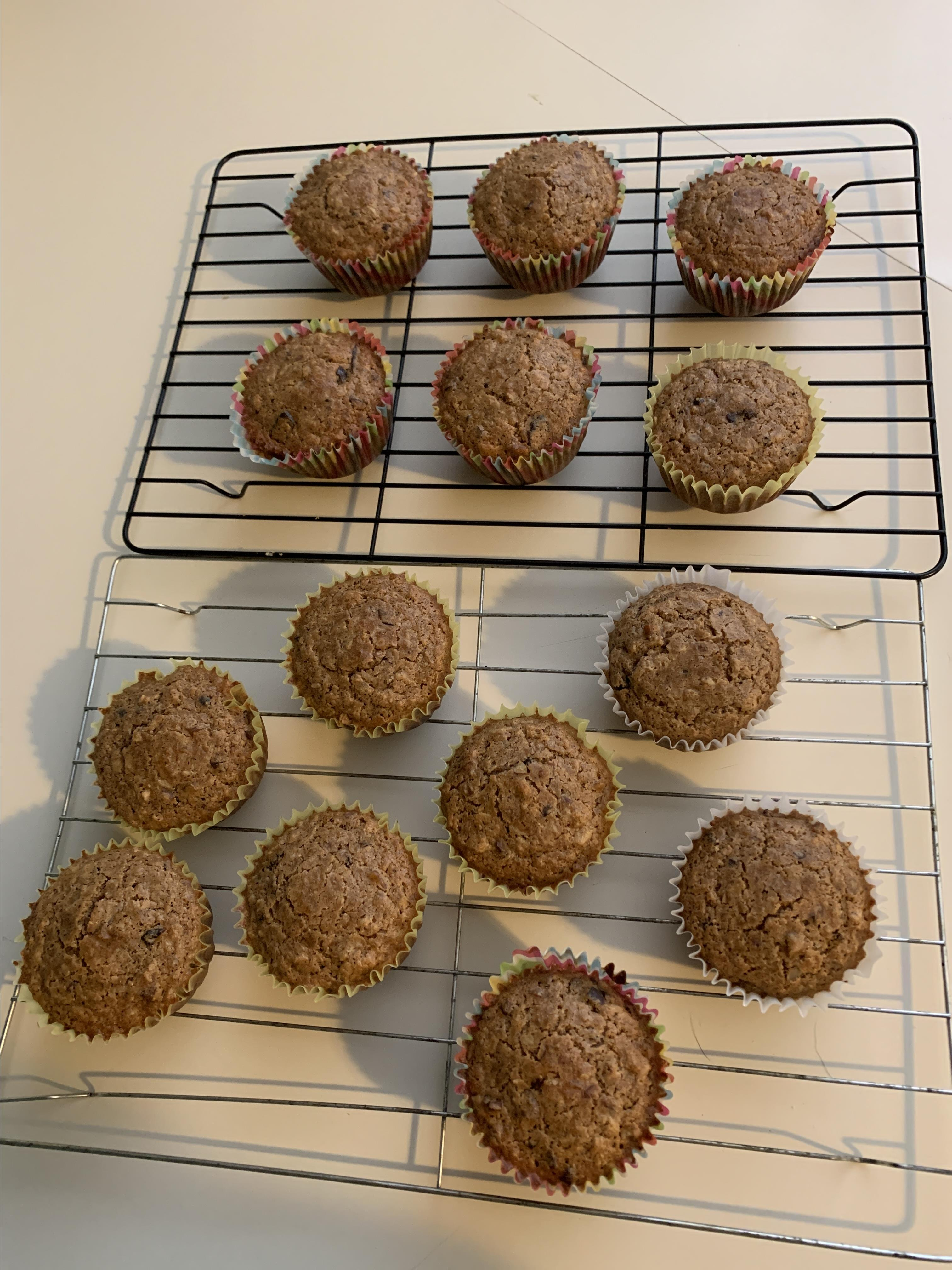 Brown Butter Oatmeal Muffins tinagreening