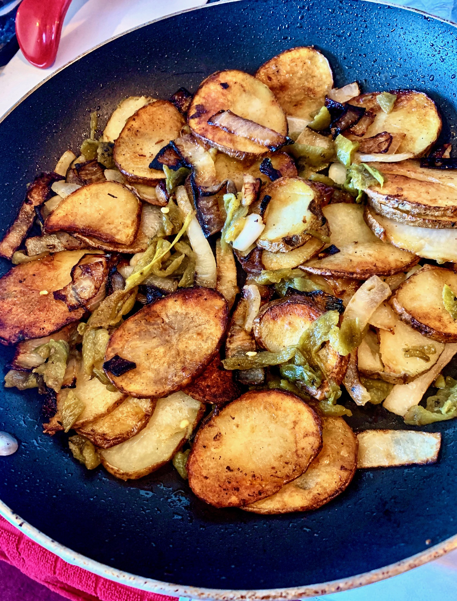 Country Fried Potatoes with Hatch Chiles