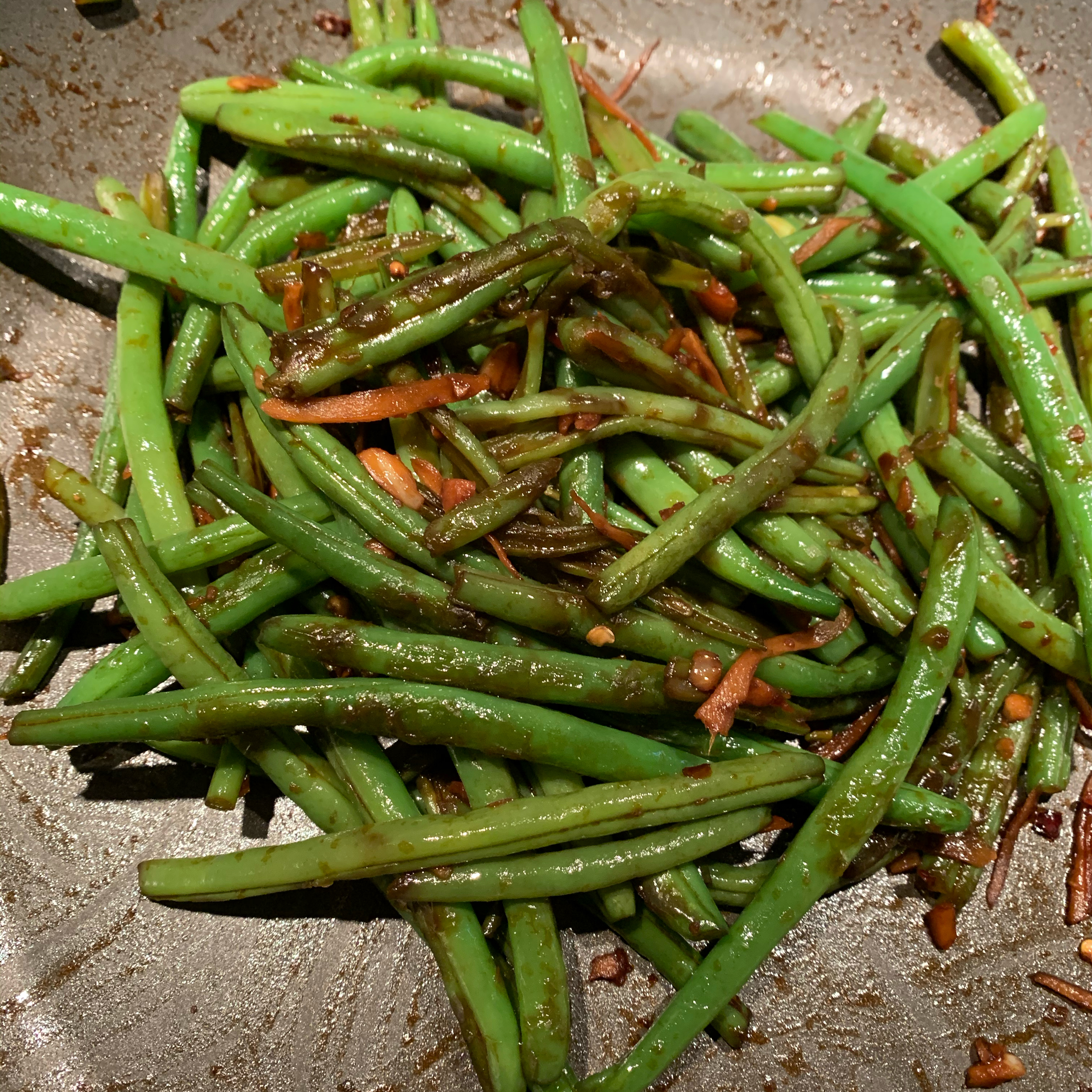 Spicy Szechuan Green Beans SteveF