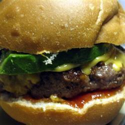 Teriyaki Onion Burgers mommyluvs2cook