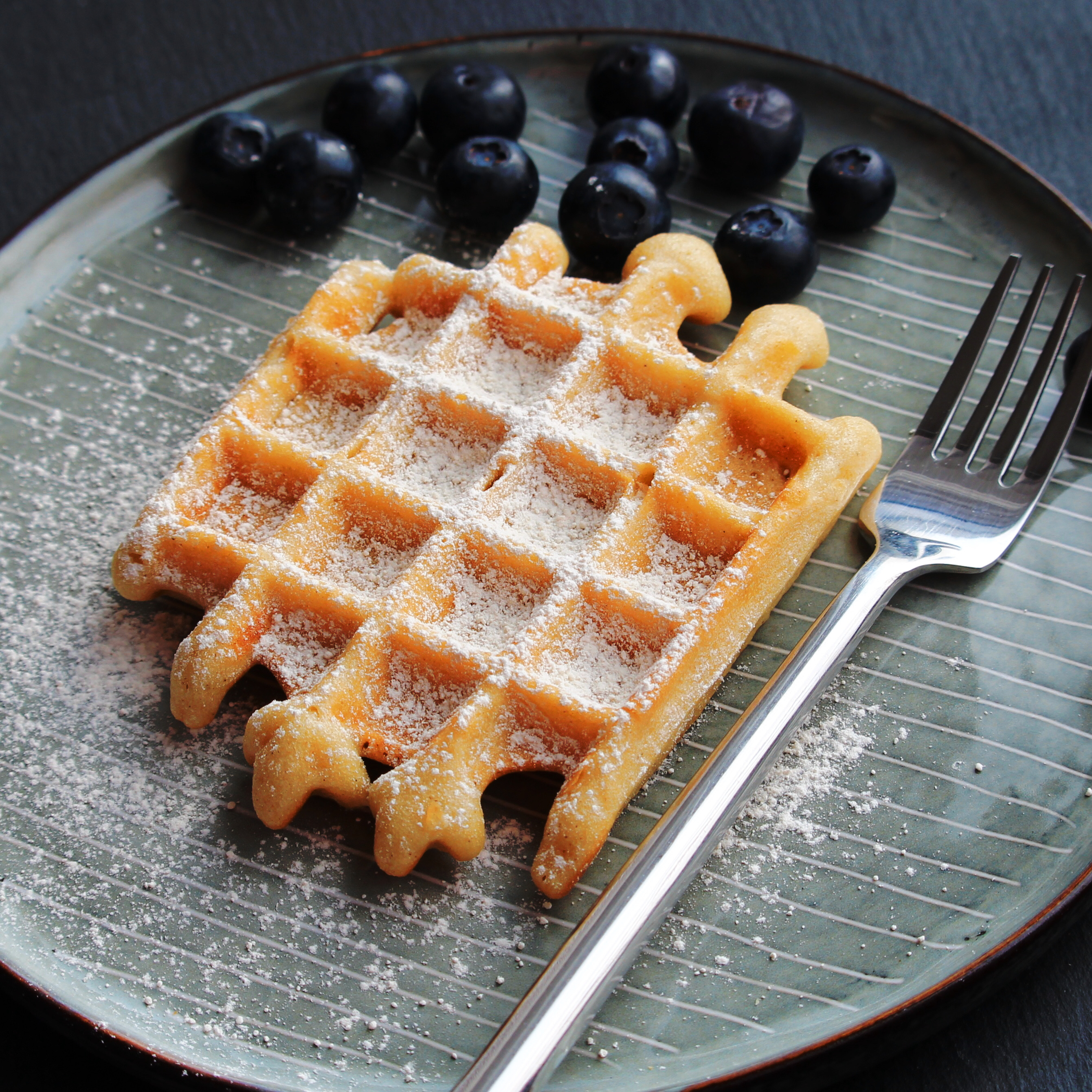 Gluten-Free Overnight Yeasted Waffles Buckwheat Queen