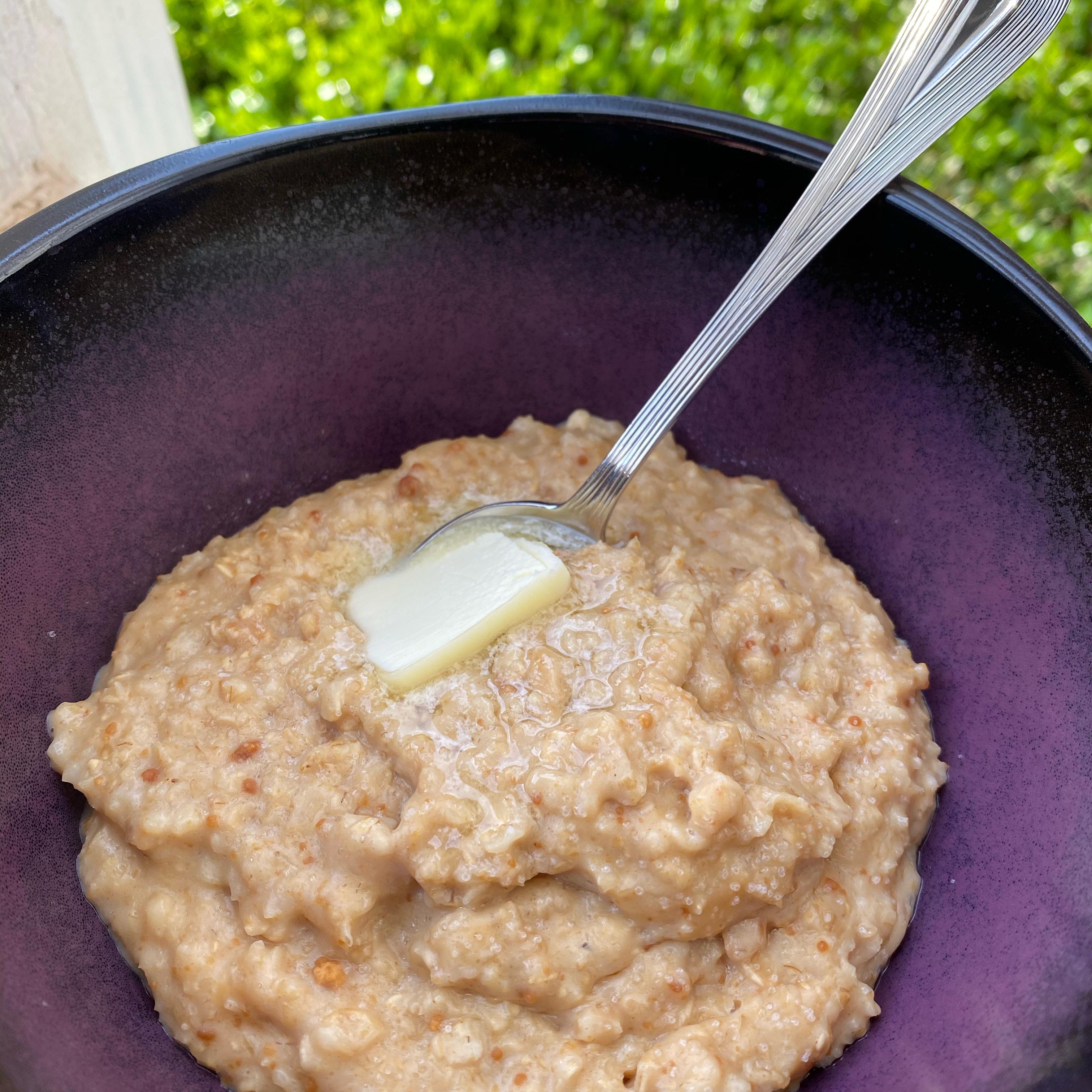Hannah's Peanut Butter Oatmeal