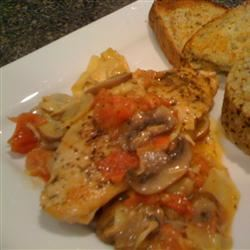 Easy Tuscan Chicken thedailygourmet