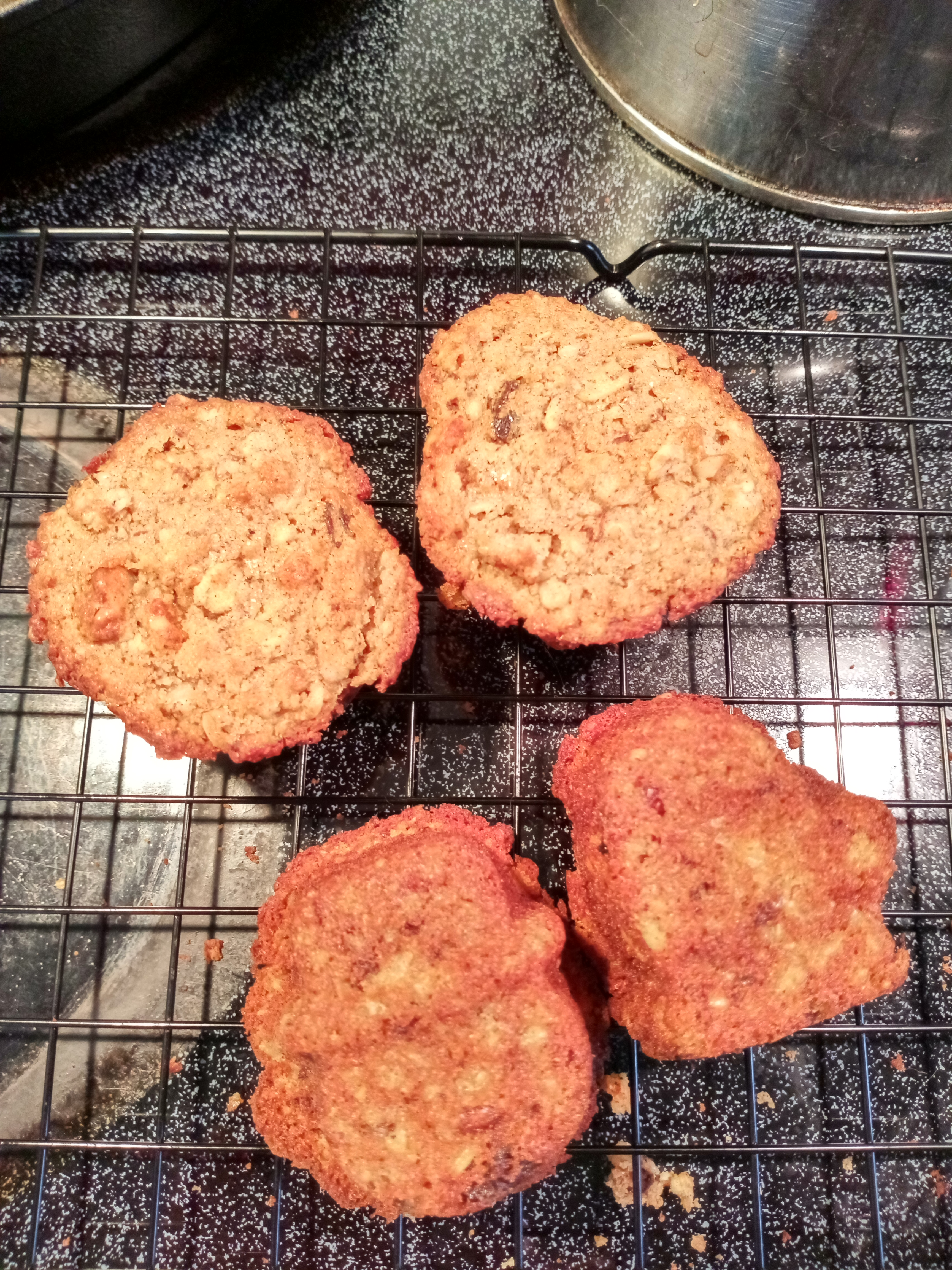 Brown Butter Oatmeal Muffins Renee Arevalos
