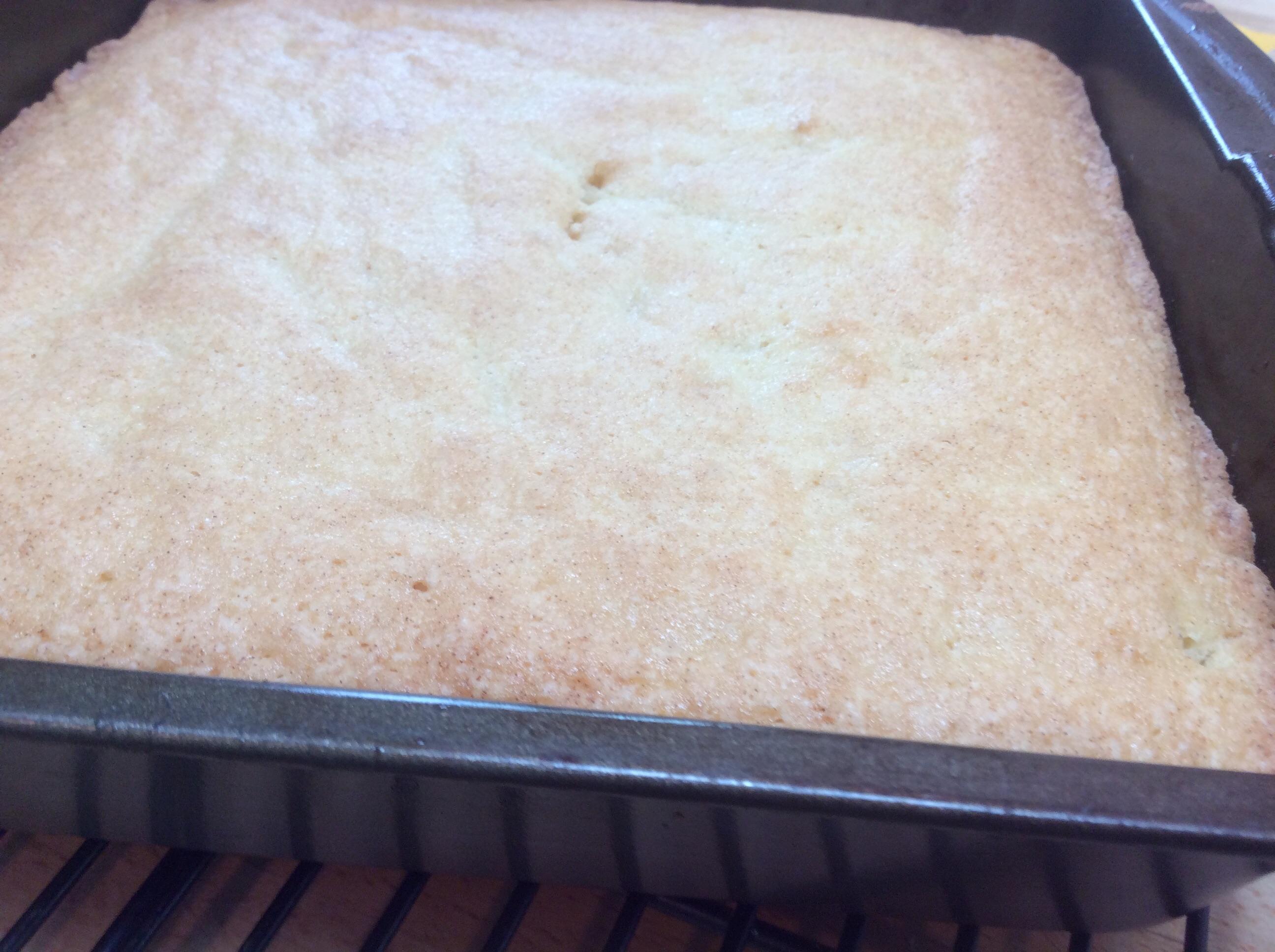Homemade Vanilla Cake Winnie Solfrian