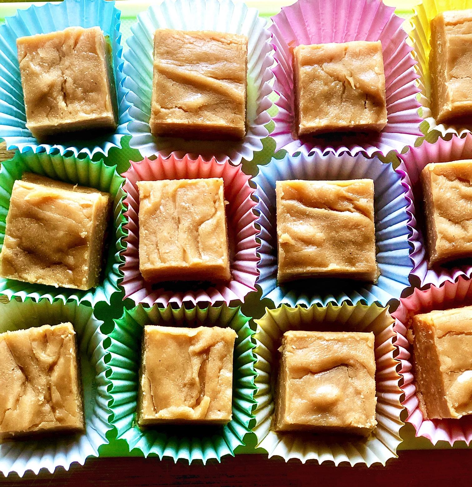 Peanut Butter Fudge with Condensed Milk