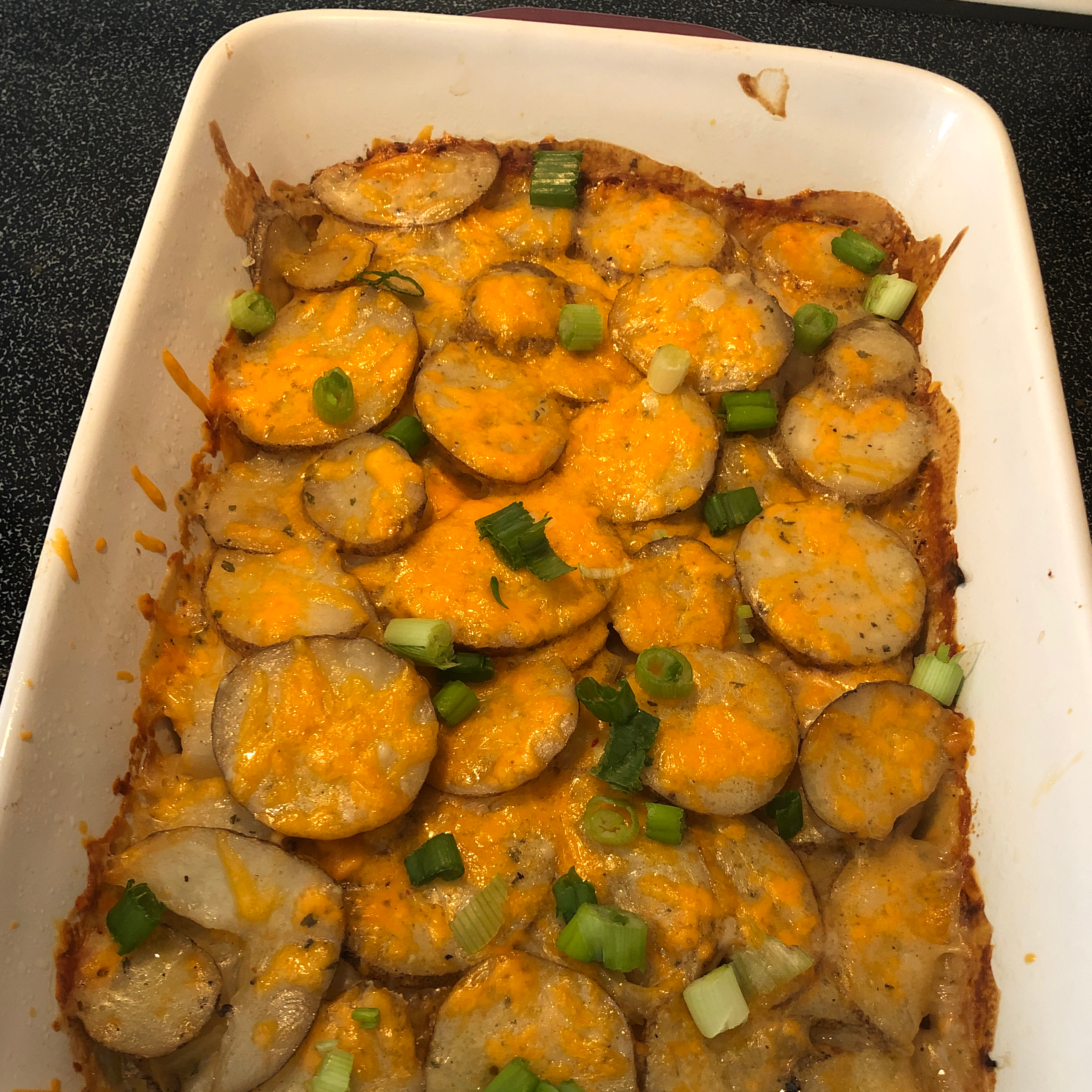 Herbed Scalloped Potatoes and Onions